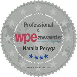 Tytuł Natalia Peryga Professiolnal of WPE Paris