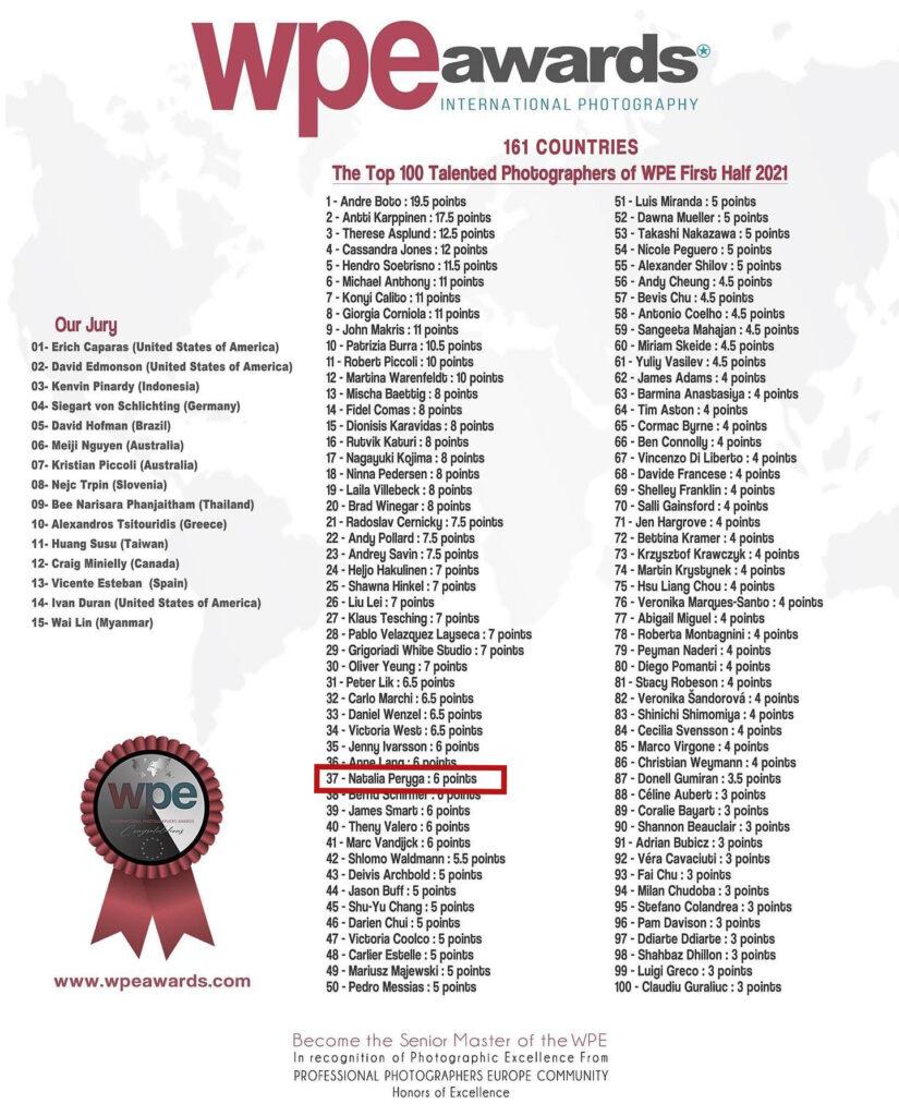 Najlepsi fotografowie na świecie. Lista TOP 100